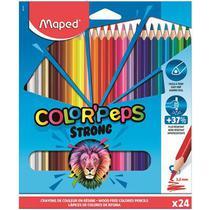 Lapis De Cor C/24 Strong Colorpeps - 862712 Maped -