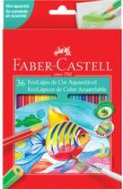 Lapis De Cor C/36 Cores Aquarelavel Faber Castell -