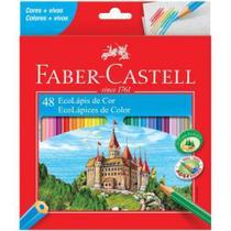 Lapis de cor c/ 48 - faber castell - FABER-CASTELL
