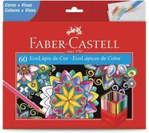 Lapis De Cor C/60 Cores Faber Castell -