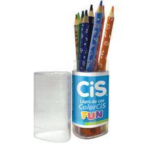 Lapis De Cor Color Cis Fun Pote Com 12 Cis -