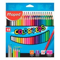 Lápis de Cor Color Peps com 48 Cores Maped -