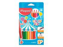 Lápis de Cor Color Peps Jumbo 12 Cores - Maped - 834010 -