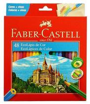 Lápis De Cor Com 48 Ecolápis Faber Castell - Tendtudo