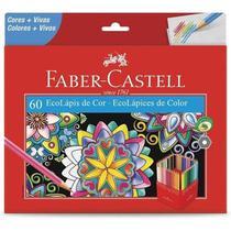 Lapis De Cor Com 60 Cores R120160G - Faber- Castell