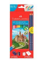 Lapis De Cor Ecolápis 12 Cores + Gratis 2 Ecolapis Grafite - Faber-Castell