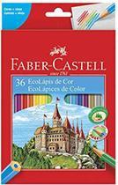 Lapis De Cor Ecolapis Ponta Max Faber Castell 36 Cores -
