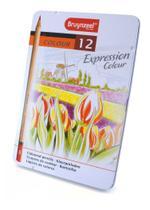 Lápis de Cor Expression Colour Estojo com 12 Cores Bruynzeel -