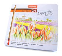 Lápis de Cor Expression Colour Estojo com 24 Cores Bruynzeel -