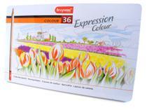 Lápis de Cor Expression Colour Estojo com 36 Cores Bruynzeel -