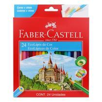 Lápis de cor Faber Castell 24 cores -