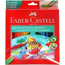 Lapis De Cor Faber-castell 48 Cores Aquarelavel 120248g - Faber Castell