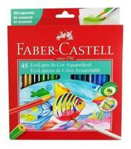 Lapis De Cor Faber Castell 48 Cores Aquarelável Ponta Max - Faber-Castell