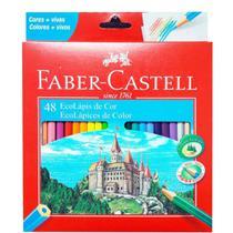 Lapis de cor Faber Castell 48 cores EcoLápis de cor - 120148 -