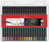 Lapis de cor Faber Castell 50 cores Supersoft 120750SOFT -