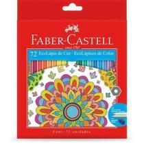 Lapis De Cor FABER CASTELL 72 Cores Ecolapis -