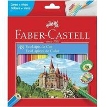 Lapis De Cor Faber Castell Ecolapis De Cor Lvm 48 Cores - Faber-Castell