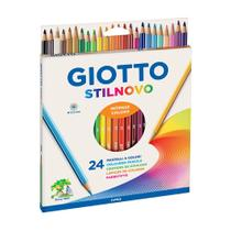 Lápis de Cor Giotto Stilnovo 24 Cores -