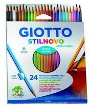 Lápis de Cor Giotto Stilnovo Aquarelavel 24 cores -