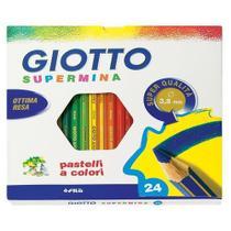 Lápis de Cor Giotto Supermina 24 Cores 235800 25504 -