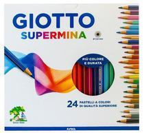Lápis de cor Giotto Supermina 24 cores -