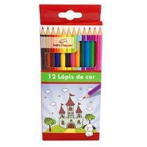 Lapis de cor inteiro 12 cores com 12 caixa - wincy -