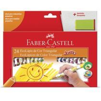 Lápis de cor - jumbo triangular - 123024AP - Faber-Castell -