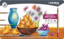 Lapis de cor Lyra Rembrandt Aquarell caixa c/36 cores -