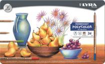 Lápis de Cor Lyra Rembrandt Polycolor 036 Cores 2001360 2001360 -
