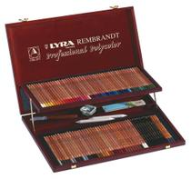 Lapis de cor Lyra Rembrandt Polycolor estojo c/100 cores -