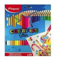 Lapis de cor maped color peps c/48 -