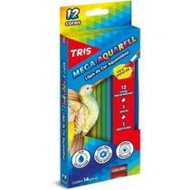 Lapis De Cor Mega Soft Color 12 Cores Aquarelavel Tris -