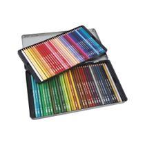 Lápis de Cor Mega Soft Color 72 Cores Estojo Metálico Tris -
