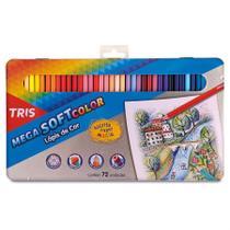 Lapis de Cor Mega Soft Colorido 72 Cores 687247 - Summit -