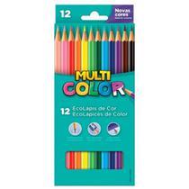 Lapis de cor multicolor 12 cores - Multi Color