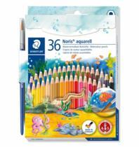 Lapis de Cor Noris Club Aquarell 36 Cores Aquarelavel com Pincel Staedtler -