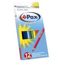 Lápis de Cor Pax Hexagonal c/ 12 Cores 18 Cm - 111320 - Giotto