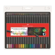 Lapis de Cor Redondo Eco Lapis Super Soft 24 Cores Faber Castell -