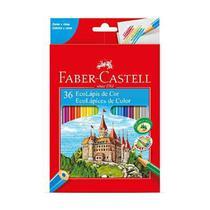 Lapis de Cor Sextavado EcoLapis 36 Cores Faber Castell -