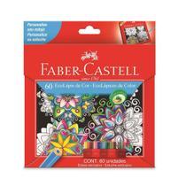Lapis de Cor Sextavado EcoLapis 60 Cores Faber Castell -