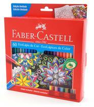 Lápis de Cor Sextavado Estojo com 60 Cores Edição Limitada Ref.120160 Faber-Castell - Faber Castell