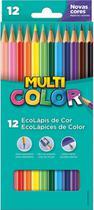 Lapis De Cor Sextavado Multicolor Super Eco - Faber Castell