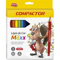 Lapis de cor sextavado neo-pen 24cores 2,9mm pct.c/06 - Compactor