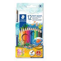 Lápis de cor Staedtler 12 cores Aquarelável -