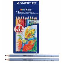 Lápis de Cor Staedtler Noris Club 144 + 2 Wopex  012 Cores  61 SET 12 -