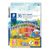 Lápis de Cor Staedtler Noris Club Aquarelável 36 cores  144 10ND36 -