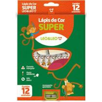 Lapis de cor super 12 cores leo&leo - Leo E Leo