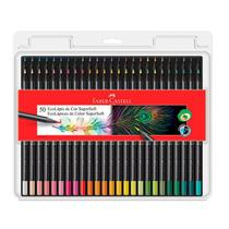 Lápis de cor Super Soft 50 cores 120750SOFT Faber-Castell -