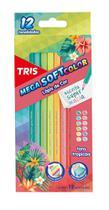 Lápis De Cor TRIS Mega Soft Color Tons Tropicais -