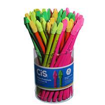 Lápis Decorado Neon Premium Com Borracha 48 Unidades Cis -